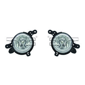 Fits 2014 2016 Kia Soul Pair Driver And Passenger Side Fog Light With Bulbs Incl