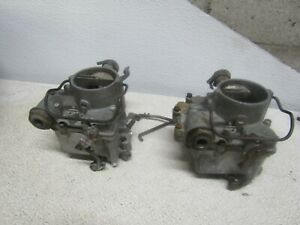 Rochester 1 Barrel Carburetors 7019403 Chevrolet Corvair