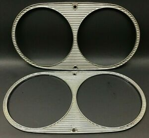 1961 1962 1963 Ford Thunderbird Headlight Bezels Bezel Trim 61 62 63 T bird