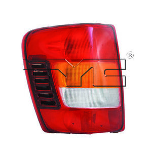 Fits 2002 2004 Jeep Grand Cherokee Tail Light Driver Side Nsf Certified