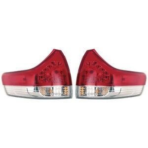 Fits 2011 2014 Toyota Sienna Base Le Xle Lmtd Outer Tail Light Pair To2804107