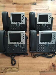 Cisco 7965 Phone Lot Of 4