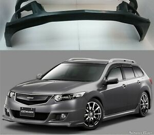 Front Lip Abs Mugen Style For Honda Accord 8 Cu2 2008 2010 Euro Tsx Acura