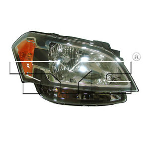 Ki2503139 Fits 2010 2011 Kia Soul Headlight Passenger Side W Bulbs Capa