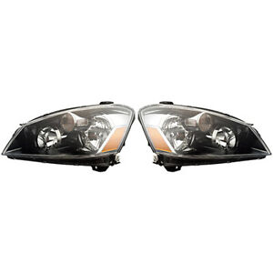 Fits 2005 2006 Nissan Altima Pair Head Lights Driver And Passenger S se sl