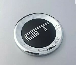 5 9 3d Chrome Black Gt Tailgate Rear Trunk Emblem Badge Decal For Ford Mustang