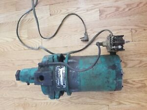 Myers Ejecto Pump Hj33s 7 142338 20 G48jy Sp 1 3 Hp 3450 Rpm 6 2 Amp Motor