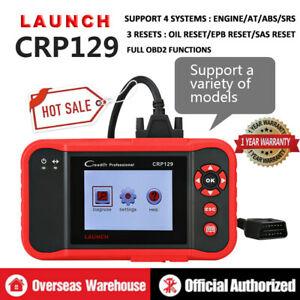 Launch X431 Creader Crp129 Obd2 Scanner Eobd Code Reader Diagnostic Tool As Viii