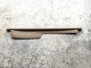 99 04 Land Rover Discovery Ii Retractable Rear Cargo Privacy Shade Cover Tan Oem