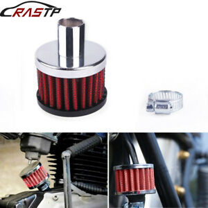 16mm Vent Crankcase Breather Small Air Filter Motorcycle Turbo Intake Filter Car