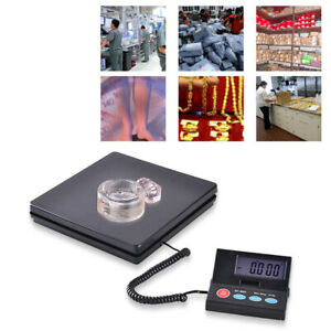 Digital Postal Scale Electronic Postage Scales Shipping Parcel 110lbs 50kg Usa