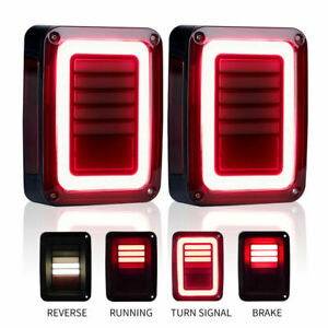 Led Tail Light Truck Rear Brake Turn Signal Lamps For Jeep Wrangler Jk 2007 2017
