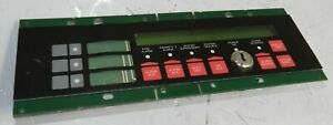 Simplex 4606 9102 Cpu Memory Fire Alarm Lcd Annunciator Missing Key h4