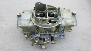 Holley 700 Double Pumper Carburetor List 4778 Like New