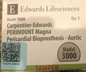 Carpentier edwards Perimount Magna Pericardial Aortic Bioprosthesis 27mm 3000
