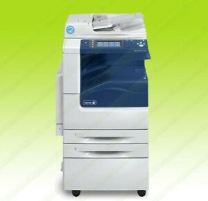 Xerox Workcentre 7225i Laser Color Bw Printer Scanner Copier 25ppm A3 Mfp 12k