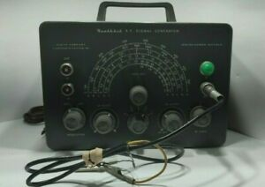 Heathkit Rf Signal Generator With Leads Powers Up Vintage