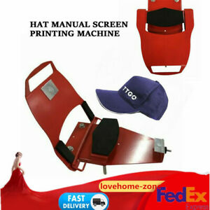 Screen Printing Press Hat Champ std Interchangeable Platen For All Types Caps A