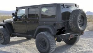Jeep Wrangler Wheels And Tires 5x used Black Rhino 17x9 5 With 35 Nitto Tires