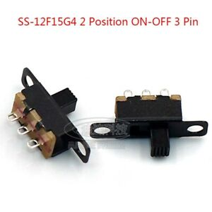 Mini 2 Position On off 3 Pin Slide Pcb Panel Power Micro Switch Spdt Microswitch