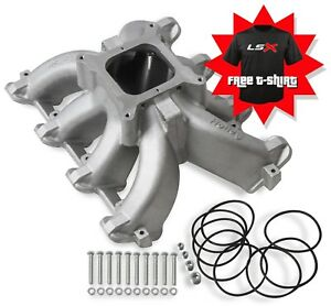 Holley 300 256 Cathedral Port Race Intake Manifold Carb Ls1 Ls2 Lsx Free T Shirt