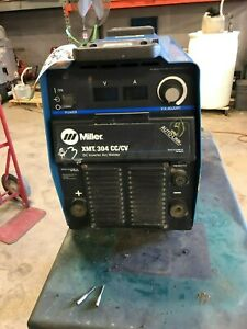 Miller Xmt304 Cc cv Multiprocess Electric Welder