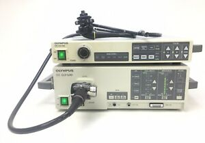 Olympus System Cv 140 With Clv u40 System With Pcf 140l Evis Colonoscope