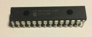 Lot Of 12 Pic18f2520 i sp Microchip Technology Microcontroller