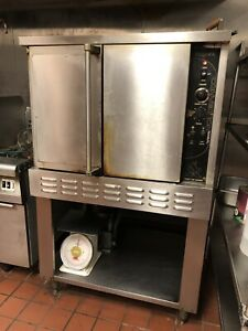 Majestic Commercial Convection Oven Gas Single deck
