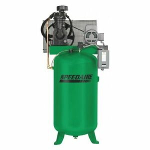 Speedaire 35wc40 Elec Air Compressor 2 Stage 5hp 16 6cfm