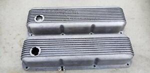 Vintage 351 Cleavland Cal Custom Valve Covers Shelby Gt Boss Mustang Torino