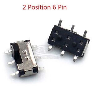On off Micro Slide Switch 2 Position 6 Pin Pcb Panel Microswitch Trough Switch