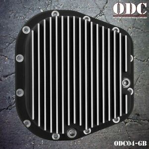 Grill Black Differential Cover Dodge Chevy Gm 11 5 14 Bolt Diff Cover Odc04 gb