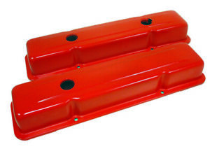 Blemished 1958 86 Chevy Small Block 283 305 327 350 400 Short Valve Covers Org