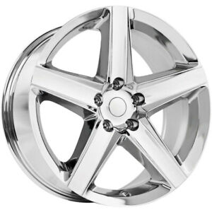 4 New 20x9 Oe Performance 129c Chrome Wheels Rims 34 5x5 00