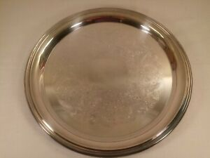 Wm Rogers 971 Silver Plated Serving Tray 12