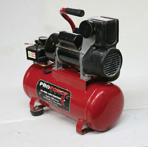 Pro Force Vpf1080318 1 Hp Single Stage Portable Air Compressor