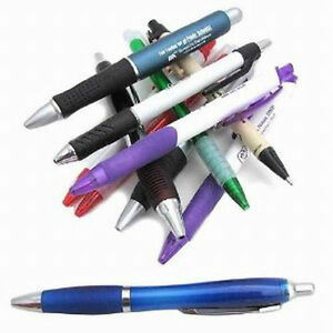 Big Lot Of 201 Fat Misprint Retractable Ballpoint Pens