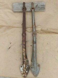 1926 1927 Model T Ford Roadster Windshield Stanchions Original Pair Touring