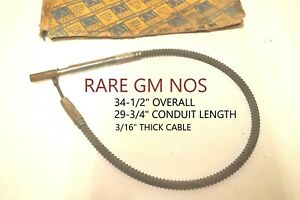 Rare Gm Emergency Parking Brake Cable Antique Vintage Classic Domestic Nos New