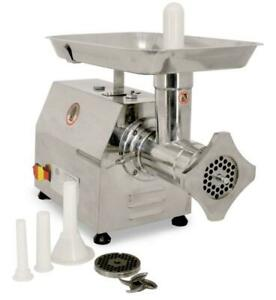 32 Heavy duty Fan cooled Counter Style Meat Grinder W 2 Hp With Microswitch