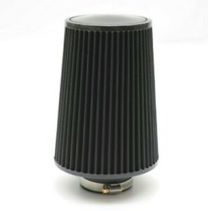 1320 Performance 4 Universal Air Filter Cone Reusable Black Tall Air Filter