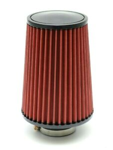 1320 Perf Fab 4 Universal Air Filter Cone Reusable Red Tall Air Filter