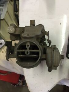 Carter Wgd 2 Barrel Carburetor Chevy Gm 1955 1958