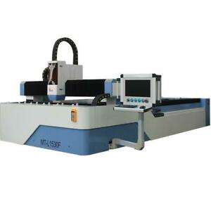 500w Raycus Fiber Laser Cutting Machine Perfect Metal Cutter 1500 3000mm Table