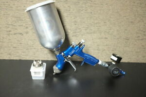 Devilbiss Compact 1 4 Spray Gun With Hvlp Trans Tech Air Caps