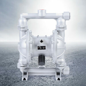 Air operated Double Diaphragm Pump With 1 Inch Inlet Outlet Petroleum Fluids
