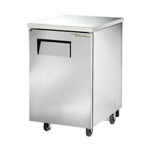True Tbb 1 s hc 24 Stainless Steel Single Door Back Bar Cooler