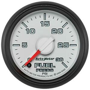 Autometer Am8560 Factory Match Full Sweep Electronic Fuel Pressure Gauge