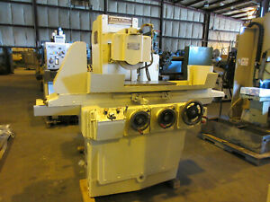 Brown Sharpe 10 X 24 Semi automatic Surface Grinder 1024 Micromaster